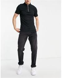 Emporio Armani J06 - Slim Fit Jeans - Zwart