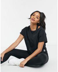 Reebok Crossfit Light Woven T-shirt - Black