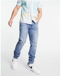 Calvin Klein Vaqueros tapered - Azul
