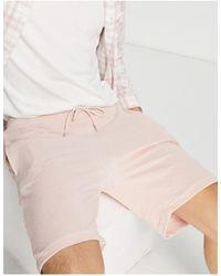 Criminal Damage Co-ord Shorts - Pink