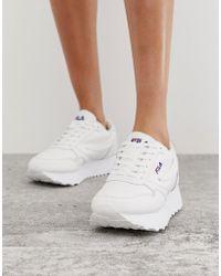 Fila Orbit Zeppa L - Baskets - Blanc - Noir
