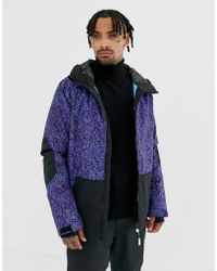 Billabong All Day Jacket In Purple