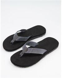 TOMS Lagoon Flip Flops - Grey