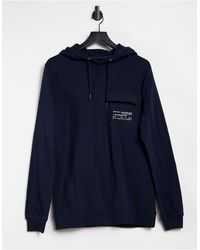 Tom Tailor Hoodie With Pocket - Blue