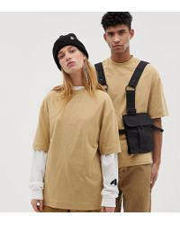 Collusion - Unisex T-shirt In Tan - Lyst