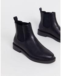 ASOS - Черные Ботинки Челси - Lyst