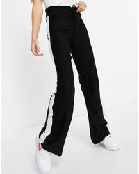 I Saw It First Pantaloni con riga laterale, colore nero