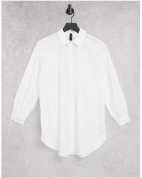 Y.A.S Белая Рубашка С Длинными Рукавами -белый