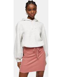 TOPSHOP Minifalda color rubor - Rosa