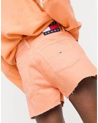 Tommy Hilfiger Denim Shorts - Orange