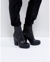 ASOS - Earthling High Ankle Boots - Lyst