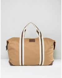French Connection | Canvas Holdall Bag | Lyst