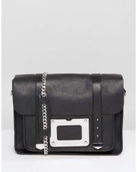 Dr. Martens - 13 Satchel With Hardware In Black Inuck - Lyst