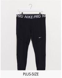 Nike Große Größe - Schwarz