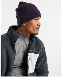 ASOS Beanie In Purple