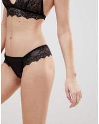 Y.A.S - Delicate Lace Brief - Lyst