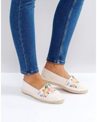 ASOS - Jitterbug Embroidered Espadrilles - Lyst