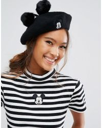 Lazy Oaf - X Disney Mickey Mouse Beret - Lyst