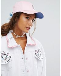 Lazy Oaf - X Disney Aristocats Lace-up Cap - Lyst