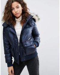Abercrombie & Fitch - Core Puffer Jacket - Lyst