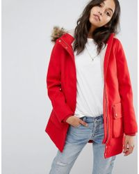 Abercrombie & Fitch - Heritage Wool Coat - Lyst