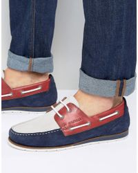 Tommy Hilfiger - Coast Boat Shoes - Lyst