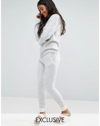 Micha Lounge - Knit Jogging Bottom With Contrast - Lyst
