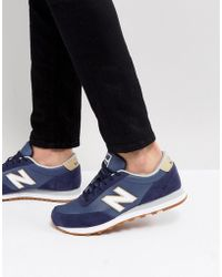 New Balance - 501 Trainers In Blue - Lyst