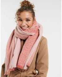 Oasis Soft Cosy Scarf - Pink