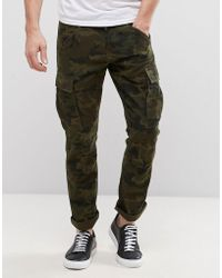 Produkt - Cargo Pant In Camo Print - Lyst