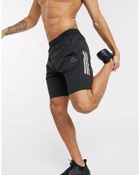 adidas Originals Adidas - Training - Short Met 3 Strepen - Zwart