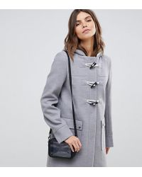 ASOS - Classic Duffle With Pocket Detail - Lyst