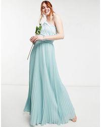 Oasis – bridesmaid – maxikleid mit verschiedenen tragemöglichkeiten - Grün