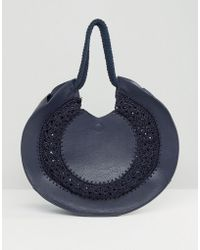 Gracie Roberts   Saddle Bag With Embossing   Lyst