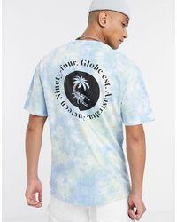 Globe Atom T-shirt - Blue