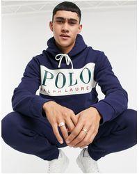 Polo Ralph Lauren X Asos Exclusive Collab Hoodie - Blue