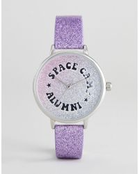 ASOS - Iridescent Space Camp Watch - Lyst