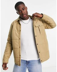 Only & Sons Padded Worker Jacket - Multicolour