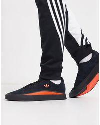 adidas Originals Sabalo - Sneakers Van Suède - Zwart