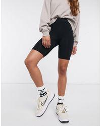 ASOS Basic legging Shorts-black