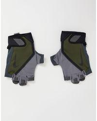Nike Мужские Спортивные Перчатки Цвета Хаки -зеленый Цвет