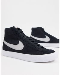 Nike Sb Zoom Blazer Sneakers - Zwart