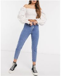 In The Style X Jac Jossa Mom Jeans - Blue
