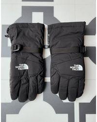 The North Face Черные Перчатки Montana Futurelight Etip-черный - Многоцветный