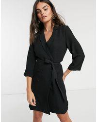 Vila Blazer Dress - Black