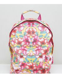 Mi-Pac - Exclusive Mini Tumbled Backpack In Flower Print - Lyst