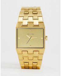 Nixon Золотистые Часы A1262 Ticket Ii - Металлик