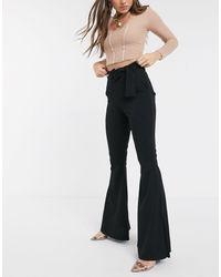 PrettyLittleThing Pantalones - Negro