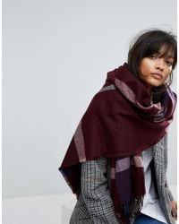Warehouse - Check Scarf - Lyst