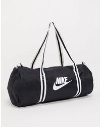 Nike Logo Holdall - Black